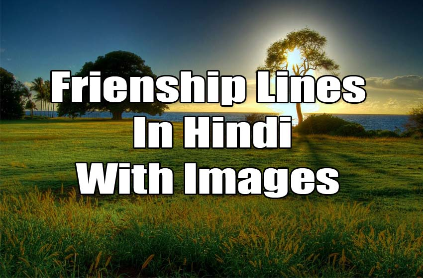 Latest Friendship Sayari In Hindi